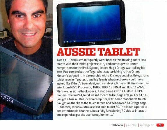 Article from APC Magazine June 2010