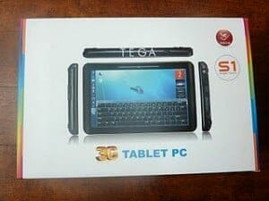 photo of TEGA Tablet packaging