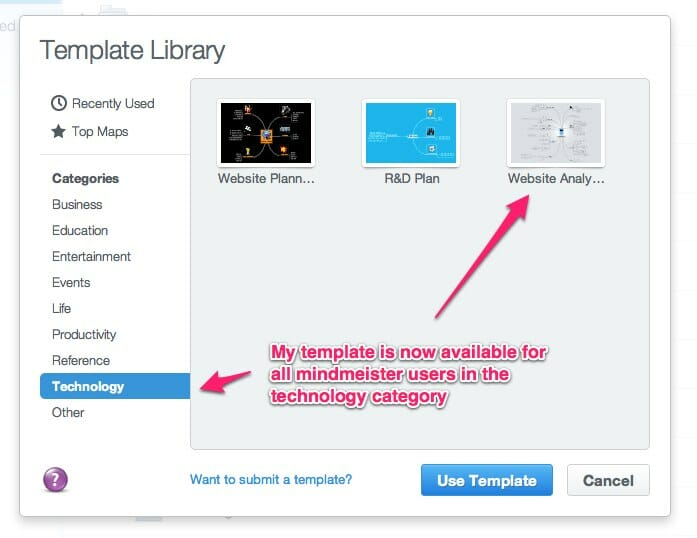 website analysis template in minmeister templates