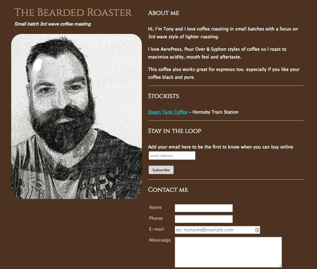 Bearded Roaster