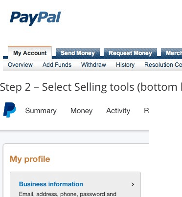 How setup Paypal to accept credit cards