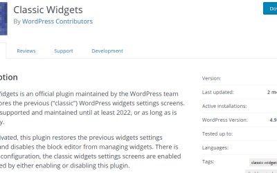 What to do if you are not ready for the WordPress 5.8 update