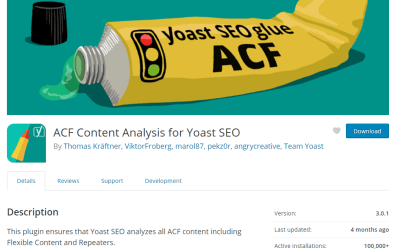 How to get those green lights with the Yoast plugin and Advance Custom Fields